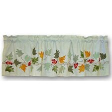 <strong>Patch Magic</strong> Falling Leaves Cotton Curtain Valance
