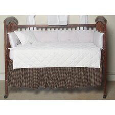 Plaid Cotton Crib Dust Ruffle
