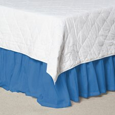 Solid Cotton Bed Skirt