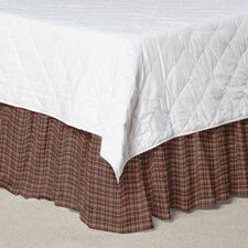 <strong>Patch Magic</strong> Plaid Cotton Bed Skirt