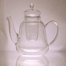 0.56-qt. Double Layer Glass Teapot