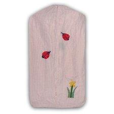 Ladybug Cotton Diaper Stacker