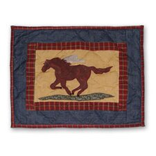 <strong>Patch Magic</strong> Shadow Rider Cotton Crib Toss Pillow