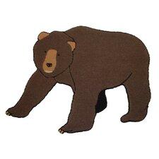 Cabin Bear Kids Rug