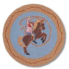 Cowboy Rodeo Kids Rug
