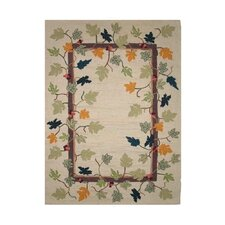 Falling Leaves Kids Rug