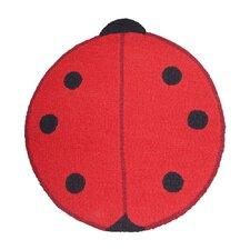 Ladybug Small Spots Kids Rug