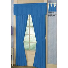 Cotton Rod Pocket Curtain Single Panel