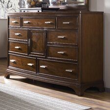 <strong>American Drew</strong> Essex Triple 9 Drawer Combo Dresser