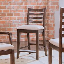 "Tribecca 25"" Bar Stool with Cushion (Set of 2)"