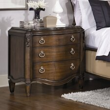 Jessica Mcclintock 3 Drawer Nighstand