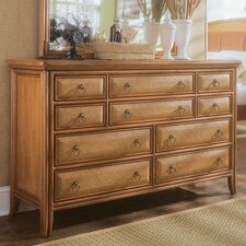 Antigua 10 Drawer Dresser