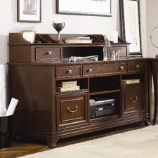 Cherry Grove New Generation Writing Desk with Hutch