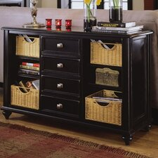 <strong>American Drew</strong> Camden Black Console Table