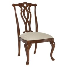 Cherry Grove Pierced Back Side Chair