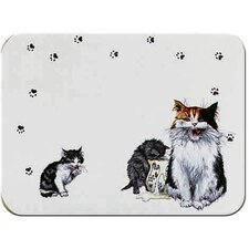 Tuftop Cats Whiskers Cutting Board