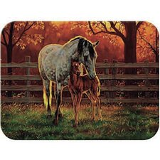 Tuftop Mare and Foal Cutting Board
