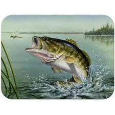 Tuftop Large Mouth Bass Cutting Board