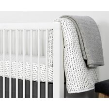 Mini Triangle 3 Piece Crib Bedding Set