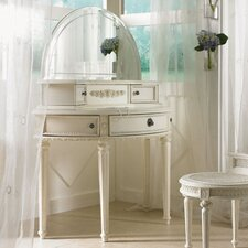 <strong>Lea Industries</strong> Emma's Treasures Small Bedroom Vanity with Mirror