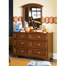 Deer Run Double 6 Drawer Dresser