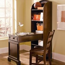 <strong>Lea Industries</strong> Covington Bookcase Desk with Chair