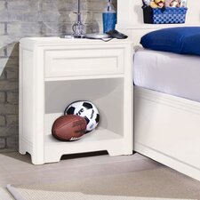 Elite Reflections 1 Drawer Nightstand