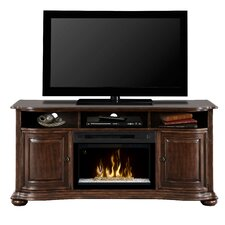 """Henderson 66"""" TV Stand with Electric Fireplace"""