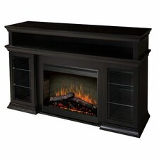 "Bennett 66"" TV Stand with Electric Fireplace"