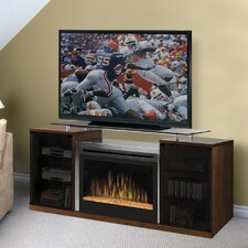 "Marana 76"" TV Stand with Electric Fireplace"