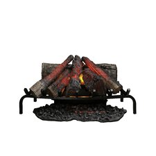 Open Hearth Insert Electric Fireplace