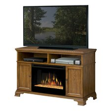 "Brookings 53"" TV Stand with Electric Fireplace"