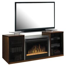 """Marana 76"""" TV Stand with Electric Fireplace"""