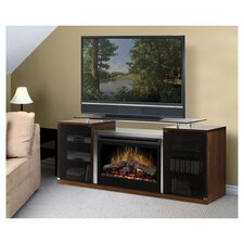 "<strong>Dimplex</strong> Marana 76"" TV Stand with Electric Fireplace"