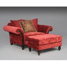 Caleb Chair and Ottoman