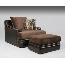 Riley Chair and Ottoman