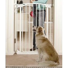 Extra-Tall Swing Closed Pet Gate in White