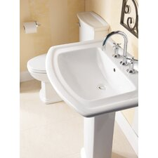 Washington 650 Pedestal Bathroom Sink
