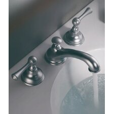 <strong>Barclay</strong> Liberty Widespread Bathroom Faucet with Double Lever Handles