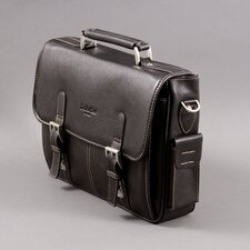 Calvin Leather Laptop Briefcase