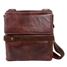 Rustic Suede Shoulder Bag