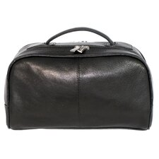 Double Zip Top Toiletry Kit