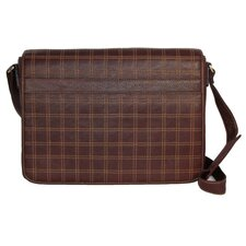 Cross Stitch Horizontal Laptop Messenger Bag