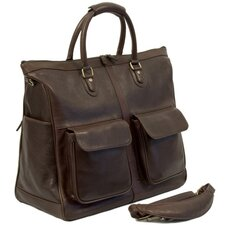 "Keats 19"" Leather Travel Duffel"