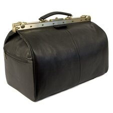 "Nabokov 11.4"" Leather Travel Duffel"