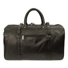 "Byron 21"" Leather Carry-On Duffel"