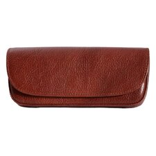 <strong>Dr. Koffer Fine Leather Accessories</strong> Leather Eyeglass Case with Belt Loop
