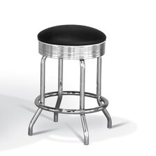 Retro Backless Counter Height Stool
