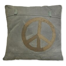Peace Canvas Euro Sham