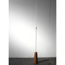 No.2 Cherry Wood, Silver Plated Aluminum, Stainless Steel Candlestick
